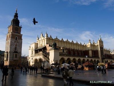 Отдых в Кракове и знакомство с достопримечательностями древней столицы Польши