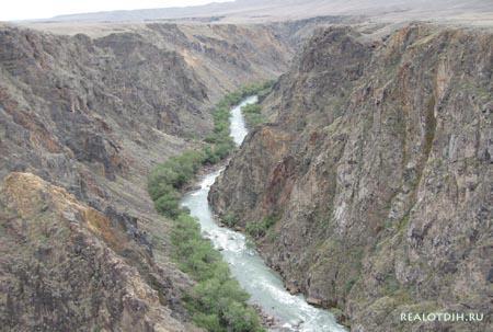 Чарынский каньон в Казахстане.