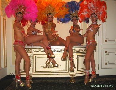 Бразилия - страна карнавалов.