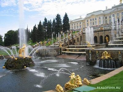 Петергоф. Санкт-Петербург