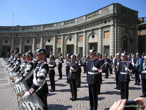 Королевский дворец Стокгольм