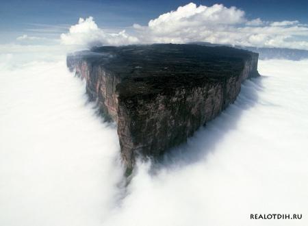 Столовая гора Рорайма в Венесуэле