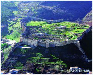 Крепость Нарын кала в Дербенте