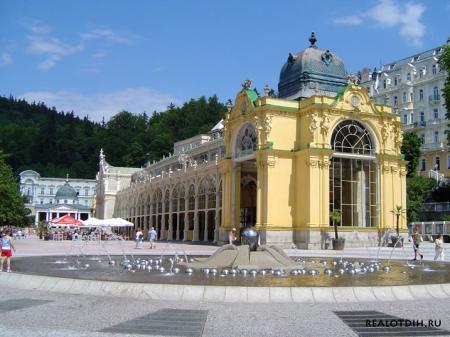 Марианские Лазне в Чехии
